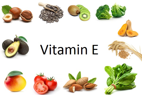 Vitamin E in live foods