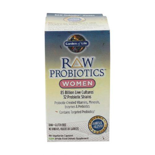 Women's Raw Probiotic Vegetarian Capsules, 90 capsules