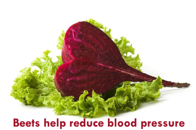 beets help reduce blood pressure