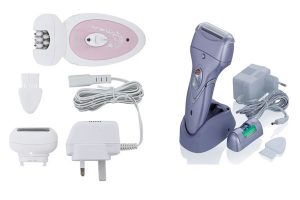 chargeable epilator