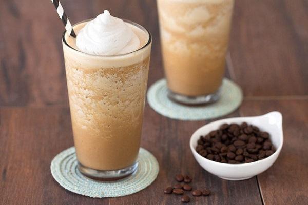 coffee protein shake