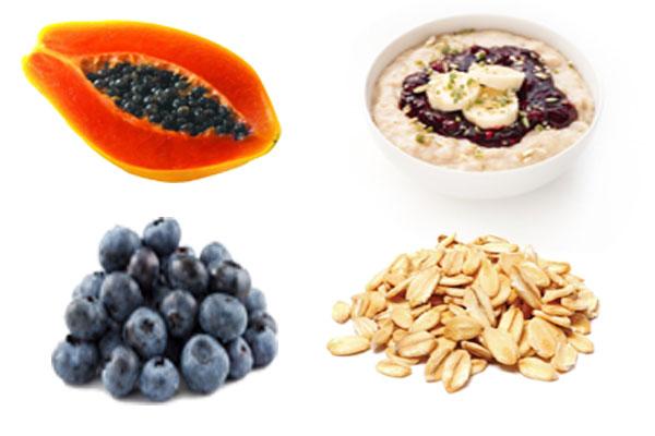 eating healthy nourishments