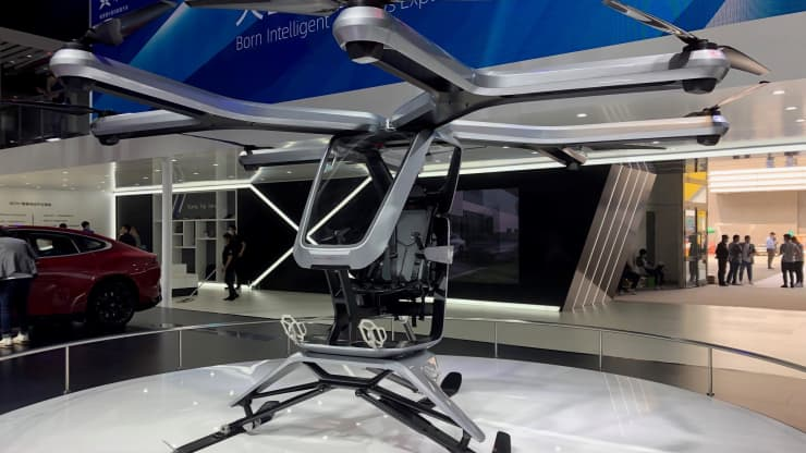 xpev flying car