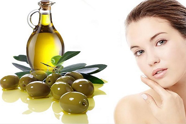 Olive oil  for treating the problem of eye tiredness