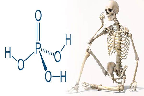 phosphoric acid removes calcium from the bones