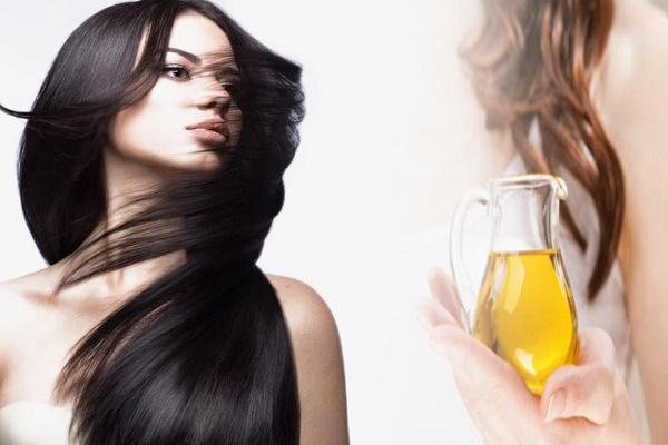 using oil based hair