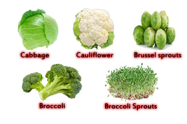 Vegetables for liver