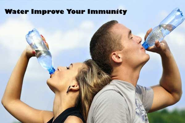 water improve immunity