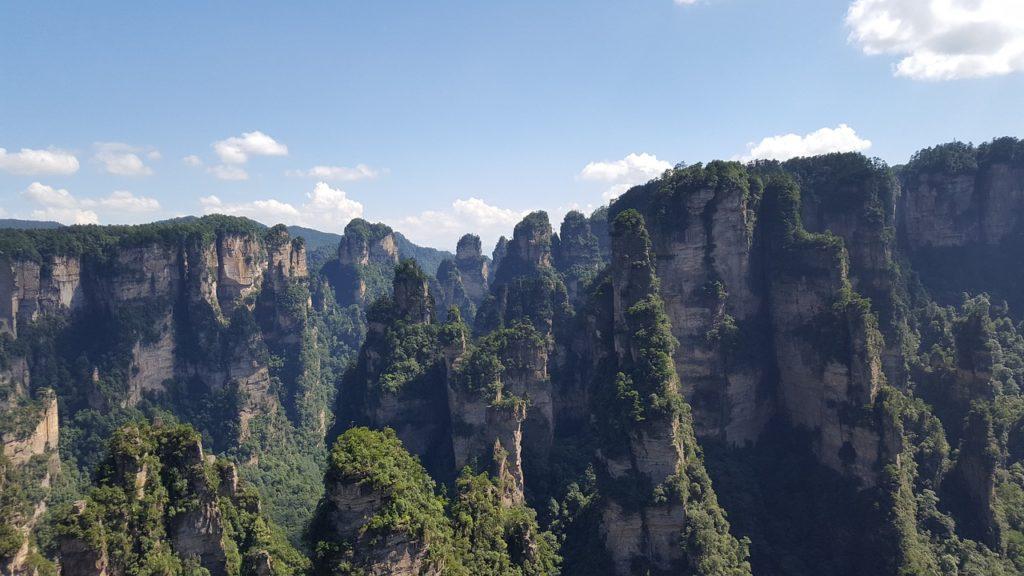Avatar Hallelujah Mountain in China
